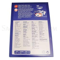 sac aspirateur codiac 40 en vente