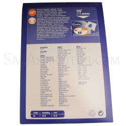 sac aspirateur codiac 68 en vente