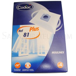 sac aspirateur codiac 81 en vente