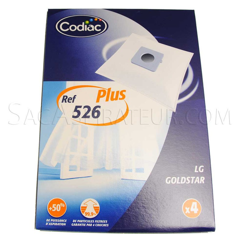 sac aspirateur codiac 526 en vente