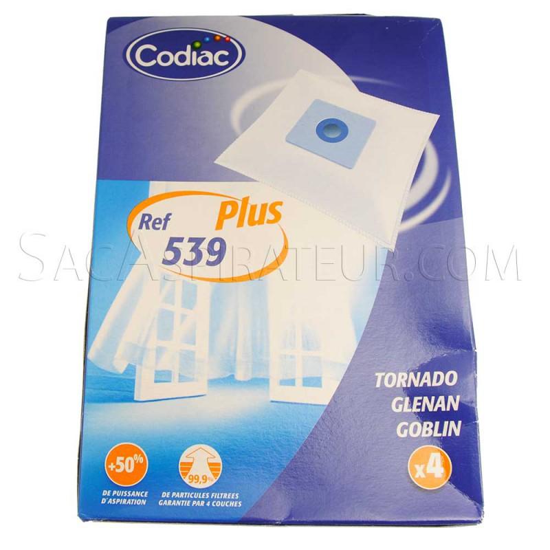 sac aspirateur codiac 539 en vente