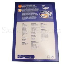 sac aspirateur codiac 570 en vente