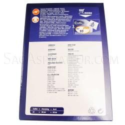 sac aspirateur codiac 93 en vente