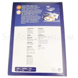 sac aspirateur codiac 517 en vente
