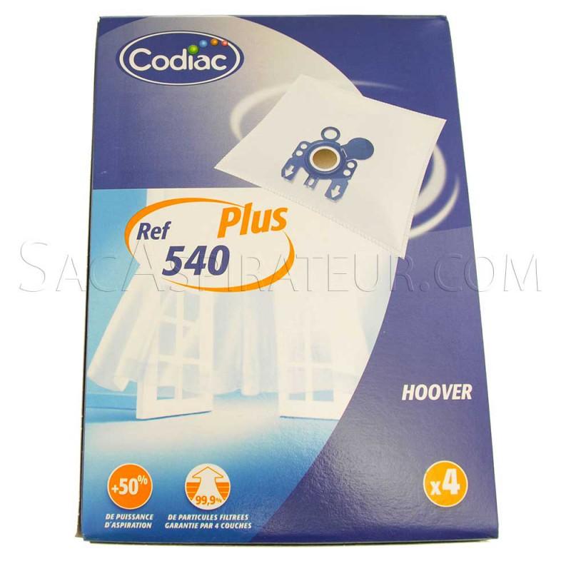 sac aspirateur codiac 540 en vente