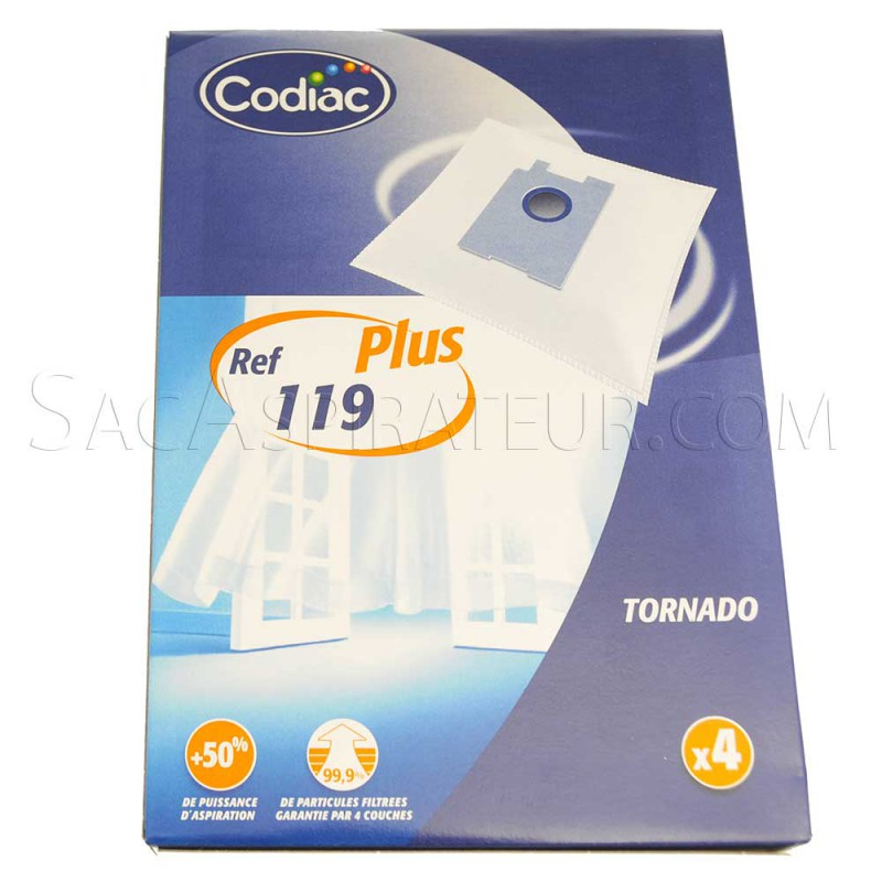 sac aspirateur codiac 119 en vente