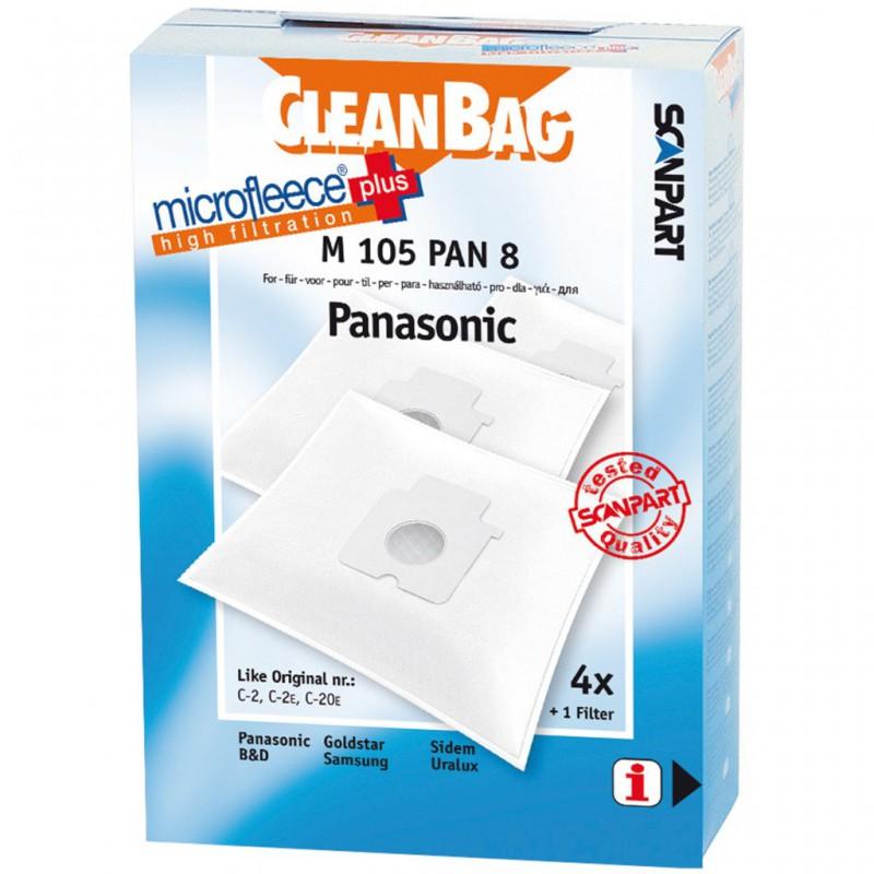 sac aspirateur CleanBag M 105 PAN 8 (boîte de 4 sacs)
