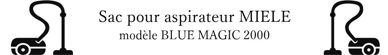 Sac aspirateur MIELE BLUE MAGIC 2000 en vente