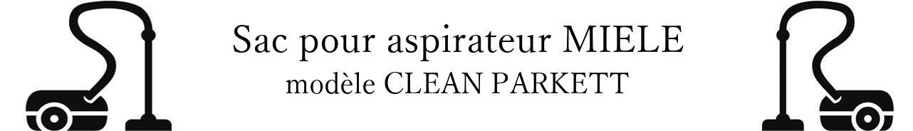 Sac aspirateur MIELE CLEAN PARKETT en vente