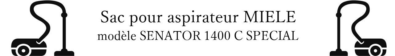 Sac aspirateur MIELE SENATOR 1400 C SPECIAL en vente
