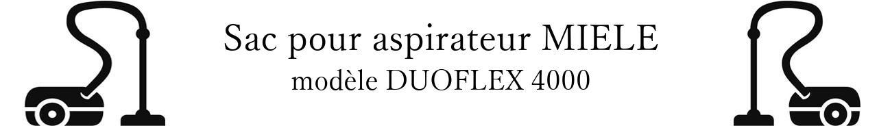 Sac aspirateur MIELE DUOFLEX 4000 en vente