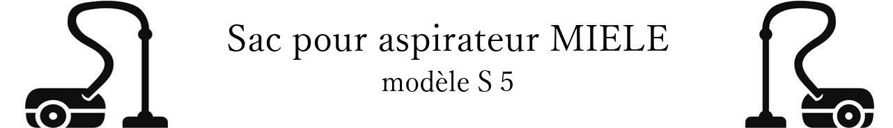 Sac aspirateur MIELE S 5 en vente