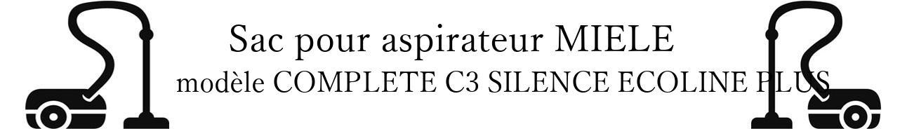 Sac aspirateur MIELE COMPLETE C3 SILENCE ECOLINE PLUS en vente