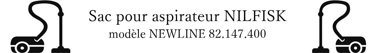 Sac aspirateur NILFISK NEWLINE 82.147.400 en vente
