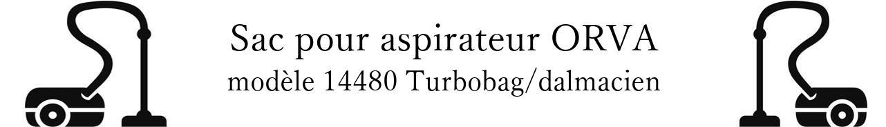 Sac aspirateur ORVA 14480 Turbobag/dalmacien en vente