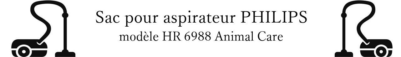 Sac aspirateur PHILIPS HR 6988 Animal Care en vente