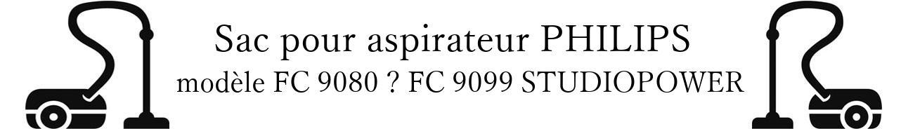 Sac aspirateur PHILIPS FC 9080  FC 9099 STUDIOPOWER en vente