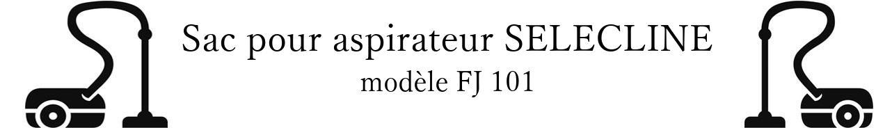 Sac aspirateur SELECLINE FJ 101 en vente