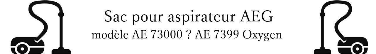 Sac aspirateur AEG AE 73000  AE 7399 Oxygen+ en vente