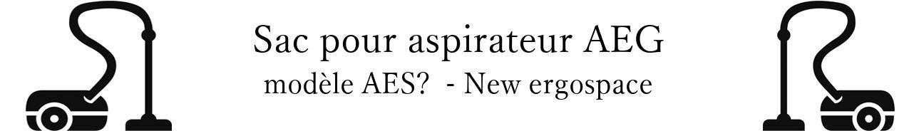 Sac aspirateur AEG AES  - New ergospace en vente