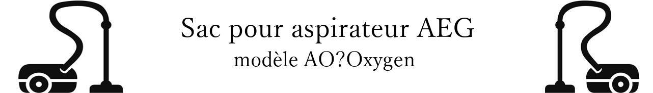 Sac aspirateur AEG AOOxygen+ en vente