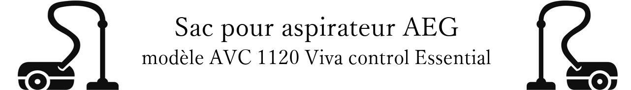 Sac aspirateur AEG AVC 1120 Viva control Essential en vente