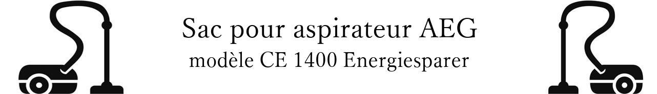 Sac aspirateur AEG CE 1400 Energiesparer en vente