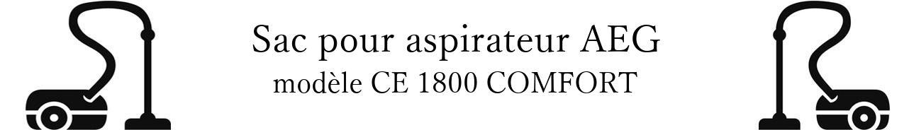 Sac aspirateur AEG CE 1800 COMFORT en vente