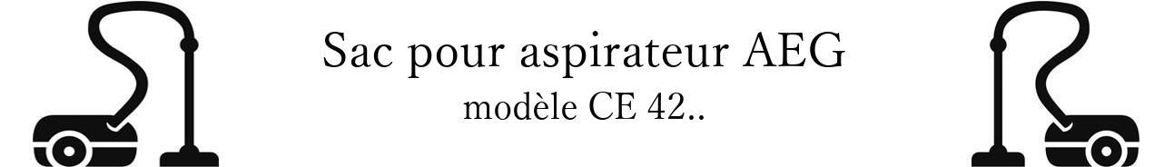 Sac aspirateur AEG CE 42.. en vente