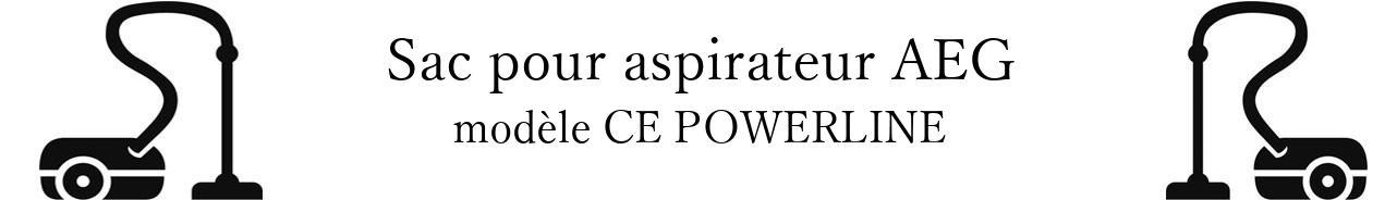 Sac aspirateur AEG CE POWERLINE en vente