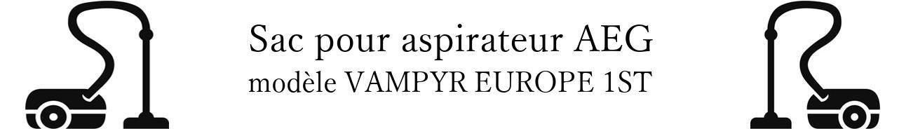 Sac aspirateur AEG VAMPYR EUROPE 1ST en vente
