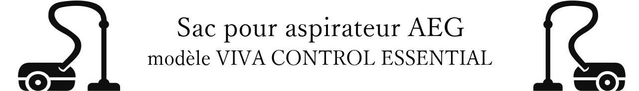 Sac aspirateur AEG VIVA CONTROL ESSENTIAL en vente