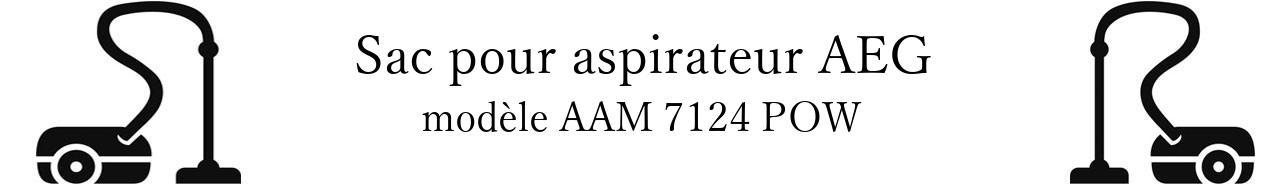 Sac aspirateur AEG AAM 7124 POW en vente