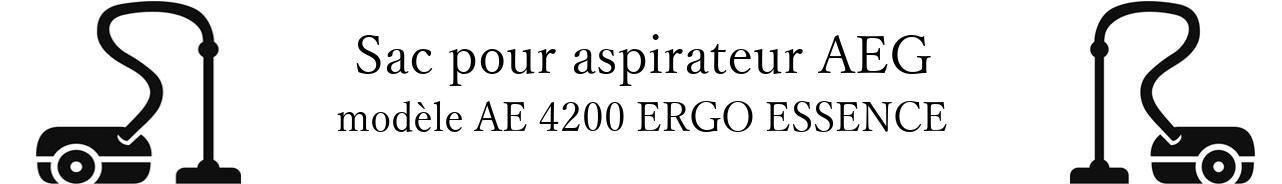 Sac aspirateur AEG AE 4200 ERGO ESSENCE  en vente