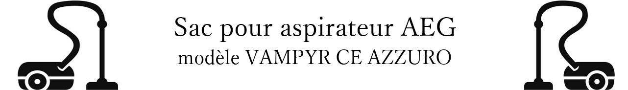 Sac aspirateur AEG VAMPYR CE AZZURO  en vente