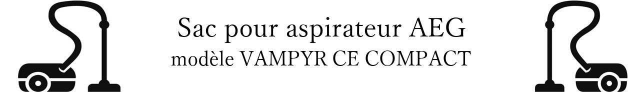 Sac aspirateur AEG VAMPYR CE COMPACT en vente
