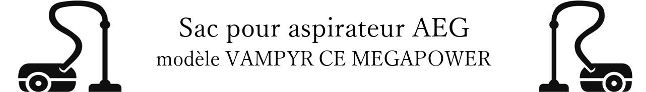 Sac aspirateur AEG VAMPYR CE MEGAPOWER en vente