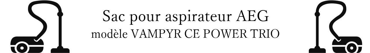 Sac aspirateur AEG VAMPYR CE POWER TRIO  en vente