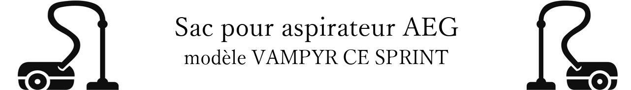 Sac aspirateur AEG VAMPYR CE SPRINT en vente