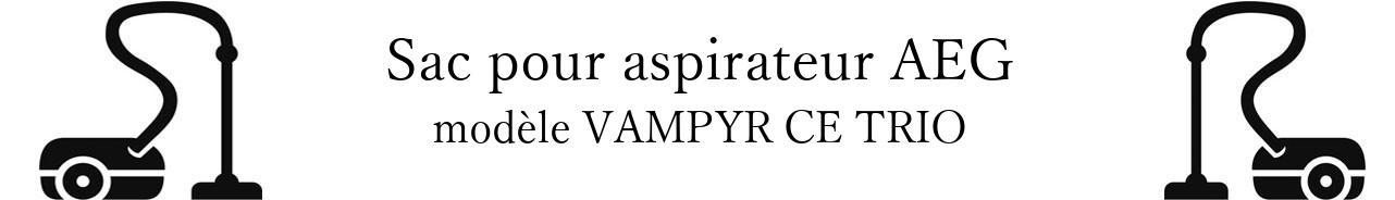 Sac aspirateur AEG VAMPYR CE TRIO  en vente