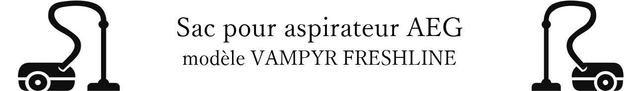 Sac aspirateur AEG VAMPYR FRESHLINE en vente