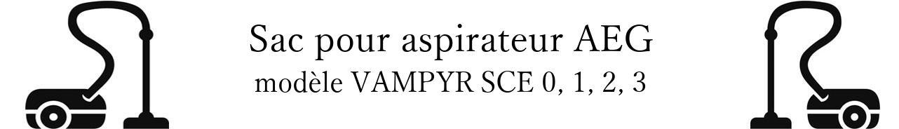 Sac aspirateur AEG VAMPYR SCE 0, 1, 2, 3  en vente