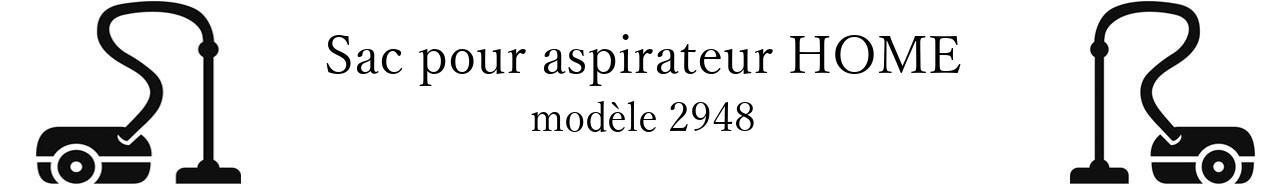 Sac aspirateur BOB HOME 2948 en vente
