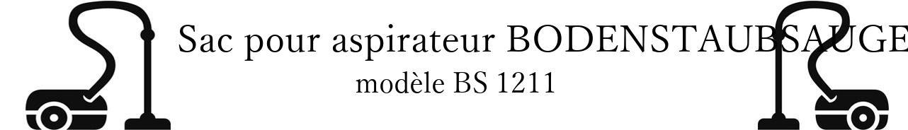 Sac aspirateur BODENSTAUBSAUGER BS 1211 en vente