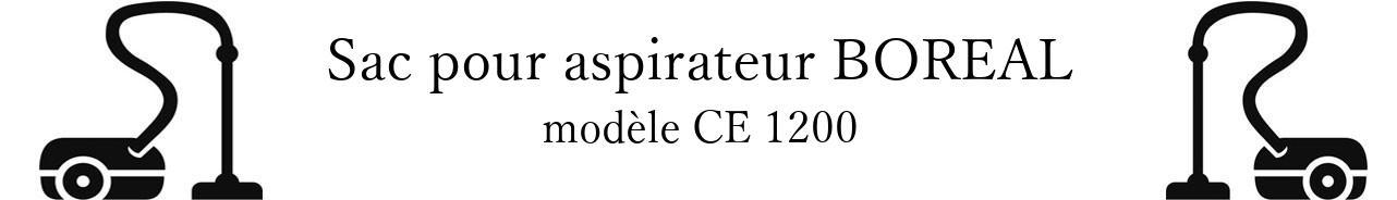 Sac aspirateur BOREAL CE 1200 en vente