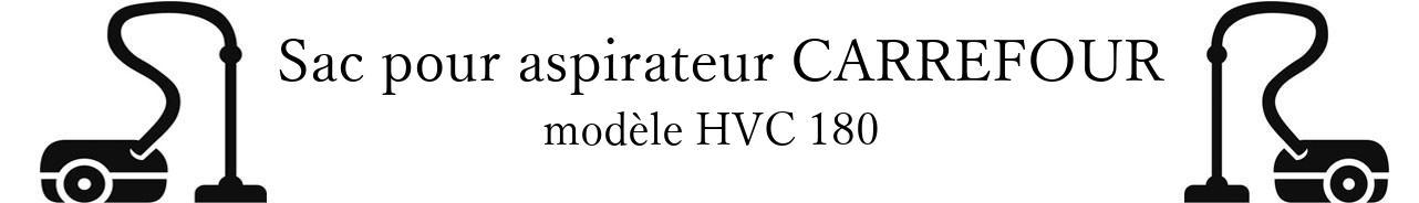 Sac aspirateur CARREFOUR HVC 180 en vente