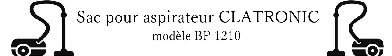 Sac aspirateur CLATRONIC BP 1210 en vente