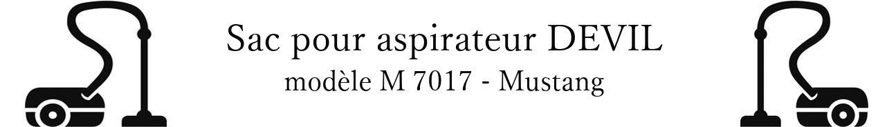 Sac aspirateur DIRT DEVIL M 7017 - Mustang en vente