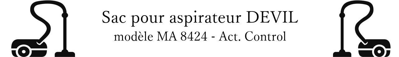Sac aspirateur DIRT DEVIL MA 8424 - Act. Control en vente