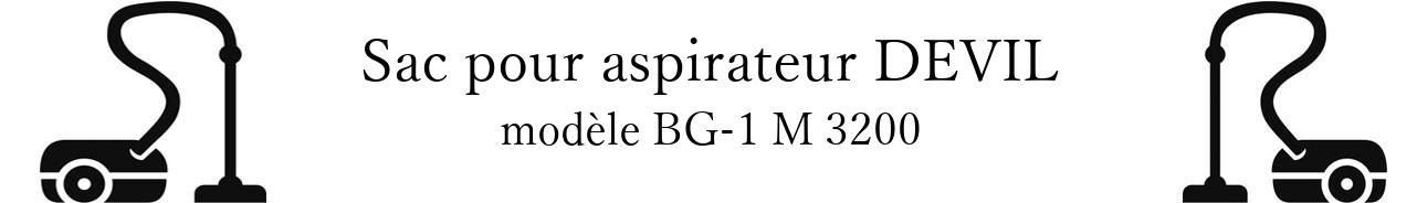 Sac aspirateur DIRT DEVIL BG-1 M 3200 en vente